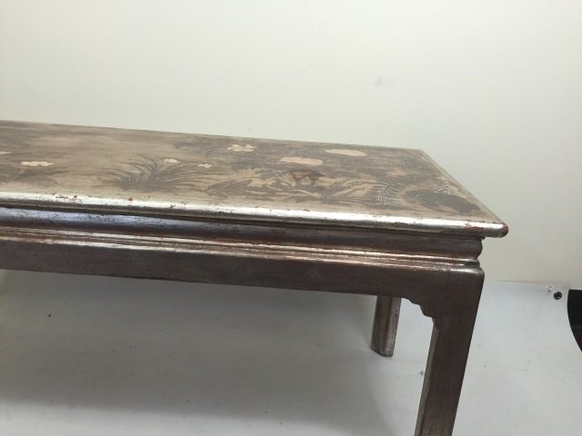 Max Kuehne Signed Polychrome Painted Coffee Table - 4