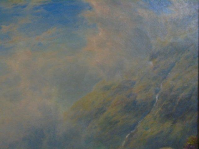 William Watson - Large Landscape Painting w Sheep - 5