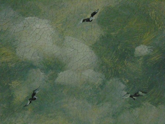 Turri - Oil Painting on Canvas French Beach Scene - 5
