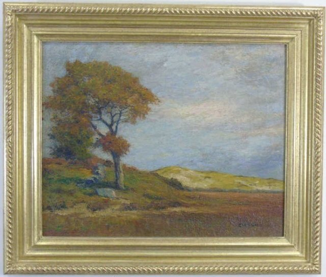 George Wainright Harvey - Landscape Oil Painting