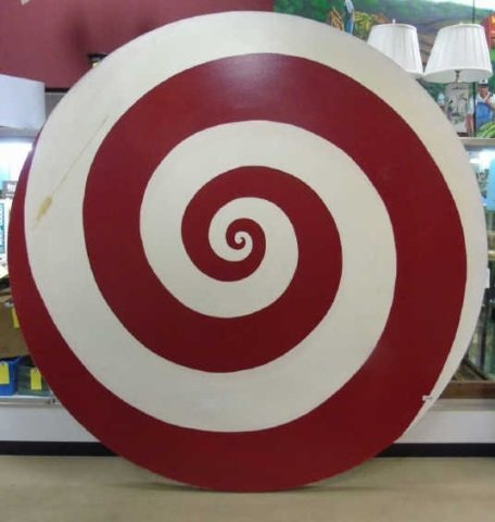Ford Beckman - Contemporary Modern Spiral Painting