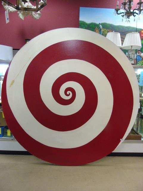 Ford Beckman - Contemporary Modern Spiral Painting - 3