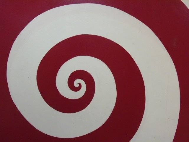 Ford Beckman - Contemporary Modern Spiral Painting - 4
