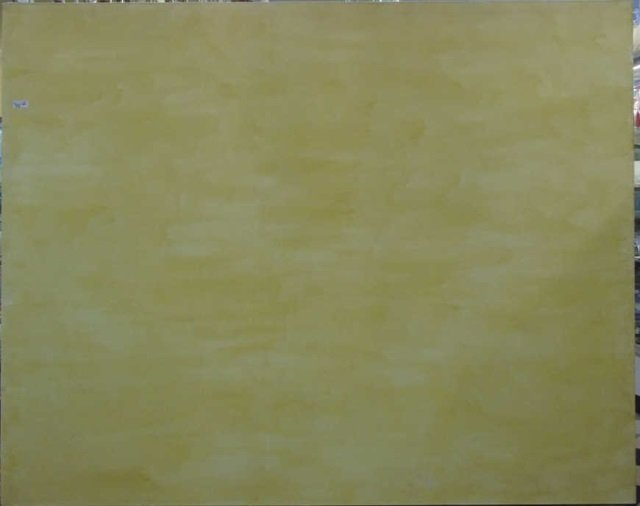 Ford Beckman - Modern Yellow Monochrome Painting