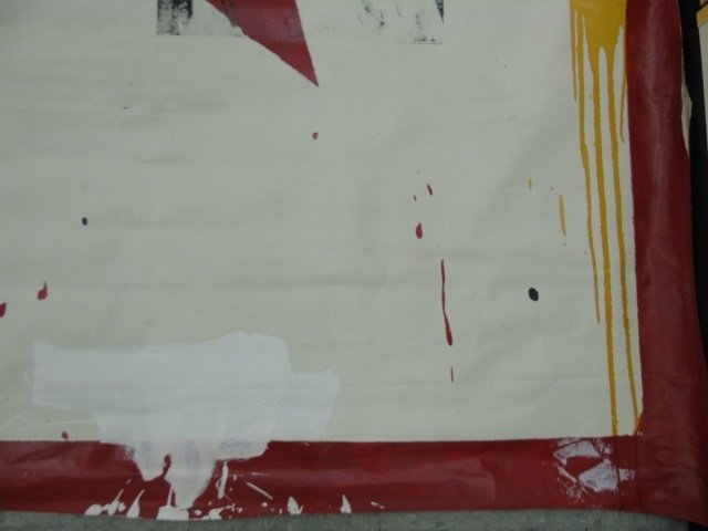 Ford Beckman Abstract Painted Circus Canvas 8 - 2