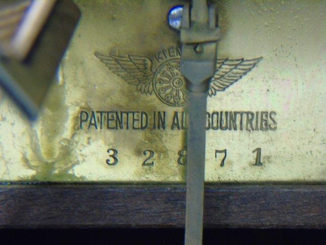 Vintage Mahogany Kienzle German Mantel Clock - 3