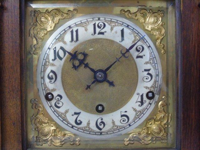 Vintage Mahogany Kienzle German Mantel Clock - 4