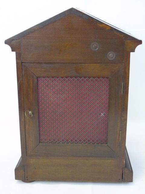 Vintage Mahogany Kienzle German Mantel Clock - 5