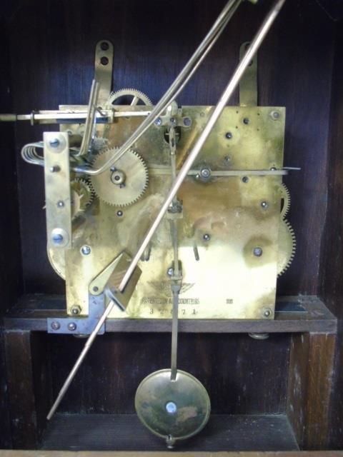 Vintage Mahogany Kienzle German Mantel Clock - 6