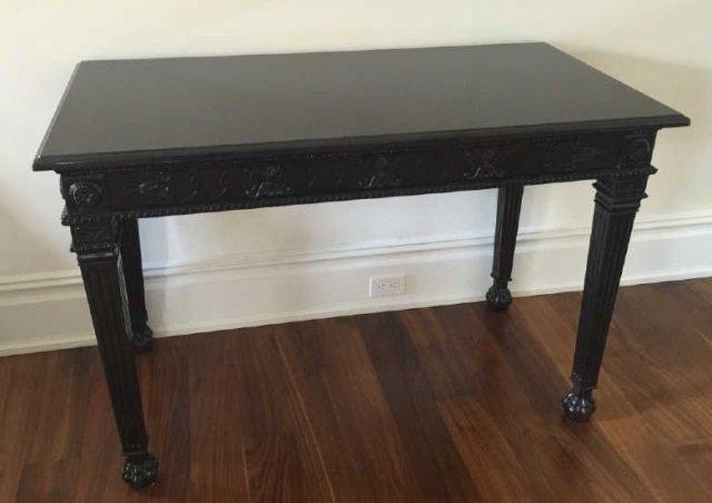 Contemporary Granite Top Georgian Console Table - 2