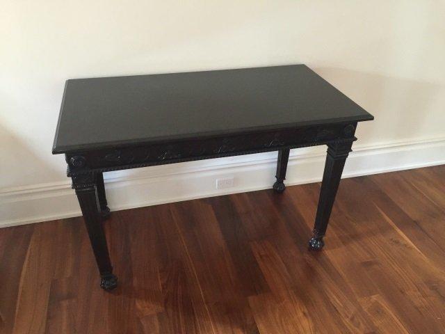 Contemporary Granite Top Georgian Console Table - 4