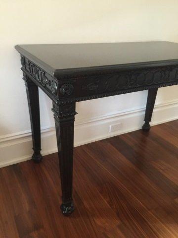 Contemporary Granite Top Georgian Console Table - 5