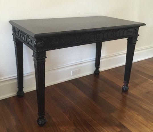 Contemporary Granite Top Georgian Console Table