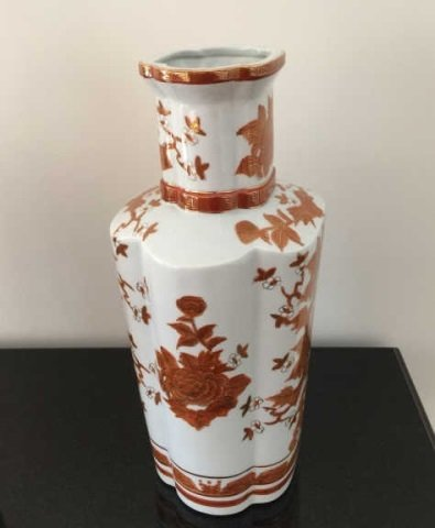 Pair Large Chinese Porcelain Baluster Vases - 3