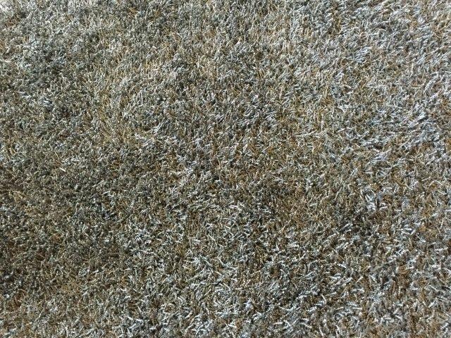 Contemporary Stark Grey Python Shag Carpet - 4