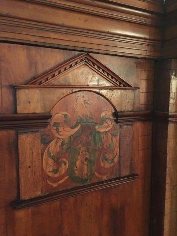Antique 18th Century German Inlaid Castle Cabinet - 3