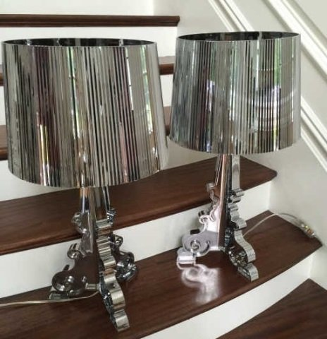 Pair Philippe Starck Bourgie Lamps by Kartell - 3