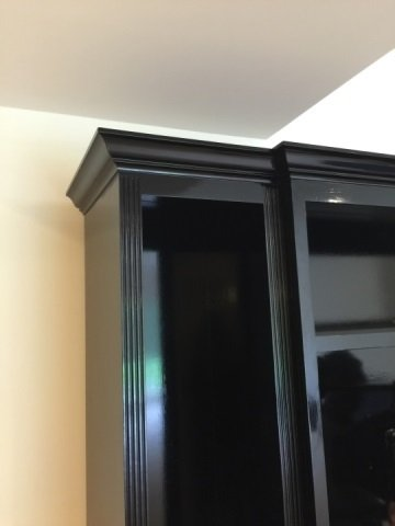 Custom Contemporary Bookcase / Entertainment Hutch - 5