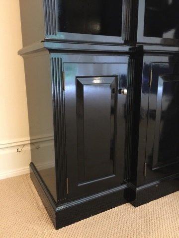 Custom Contemporary Bookcase / Entertainment Hutch - 6