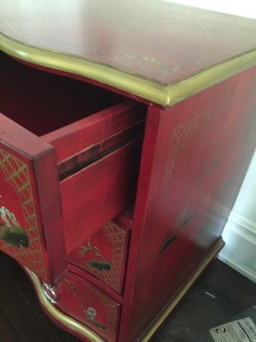 Contemporary Queen Anne Chinese Lacquer Dresser - 7