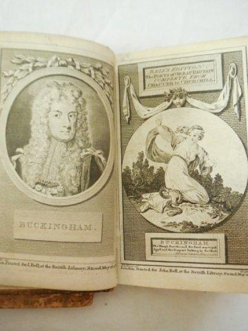 Set of 3 Antique Poetry Books Sheffield Akenside - 4