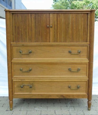 Vintage Tall Chest of Drawers by Baker