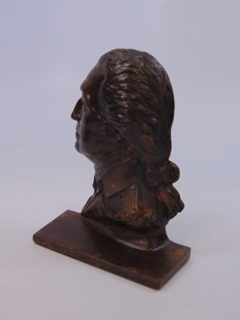 Two Pairs Bookends - George Washington / Indians - 3