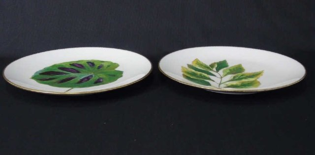 Antique Hand Painted Mintons Botanical Plates - 2