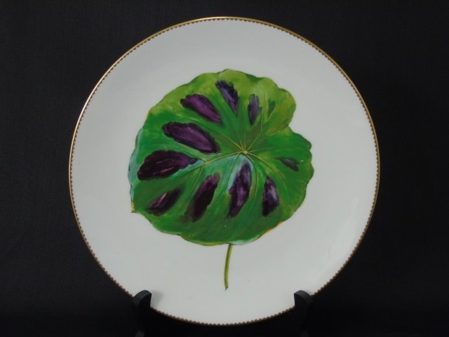 Antique Hand Painted Mintons Botanical Plates - 3