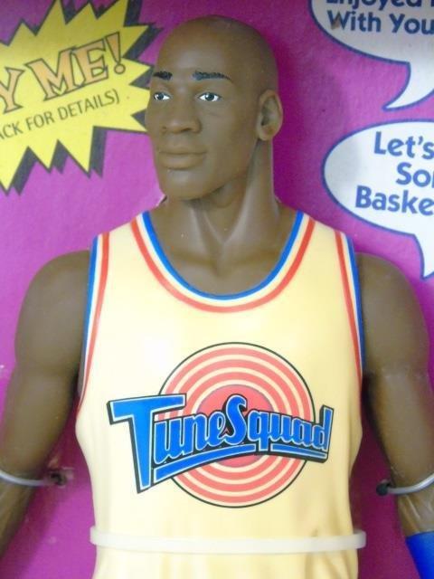Vintage Michael Jordan Space Jam Toy in Box Talks - 3