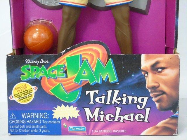Vintage Michael Jordan Space Jam Toy in Box Talks - 4