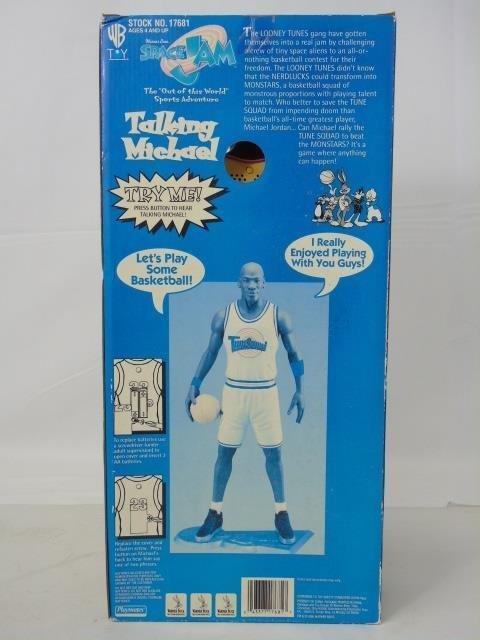 Vintage Michael Jordan Space Jam Toy in Box Talks - 5