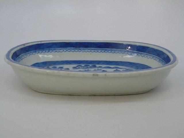 Pair Antique Chinese Canton Porcelain Bowls - 3