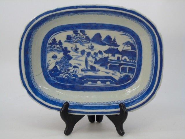 Pair Antique Chinese Canton Porcelain Bowls - 4