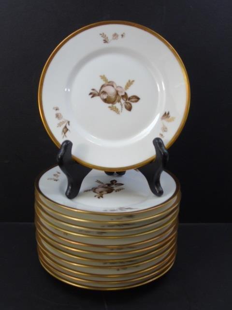 Royal Copenhagen Denmark - 12 Dessert Plates