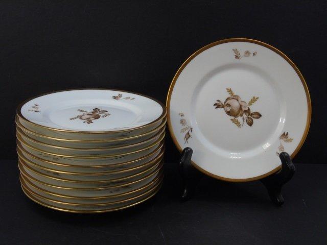 Royal Copenhagen Denmark - 12 Dessert Plates - 2