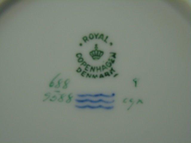 Royal Copenhagen Denmark - 12 Dessert Plates - 4