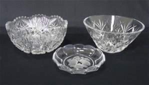 Waterford, Val Saint Lambert & Brilliant Crystal