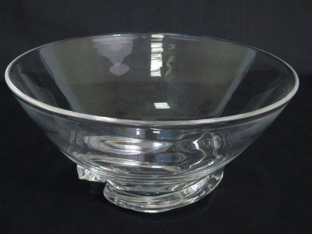 Vintage Steuben Art Glass Figural Candy Bowl