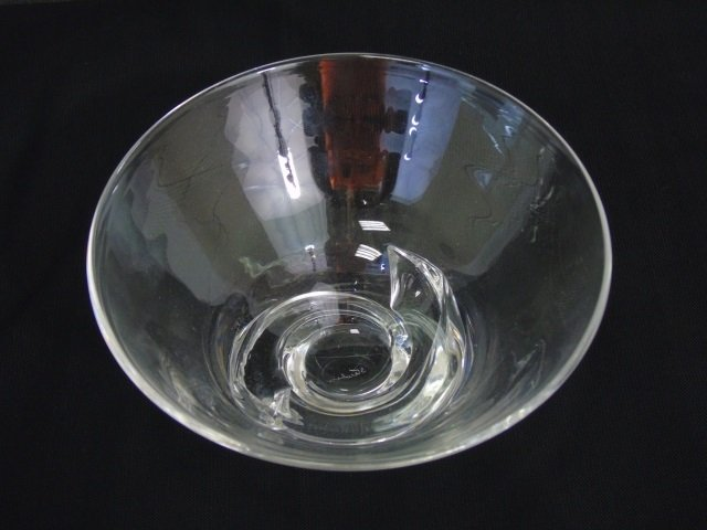 Vintage Steuben Art Glass Figural Candy Bowl - 2