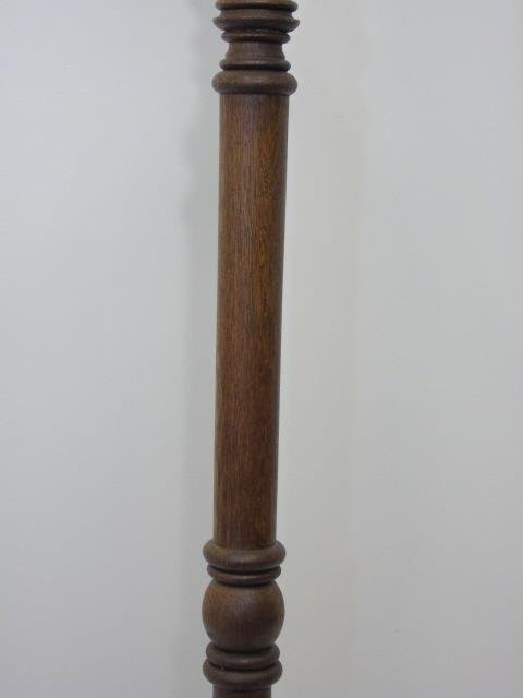 Antique 19th C Victorian Carved Wood Coat Rack - 2