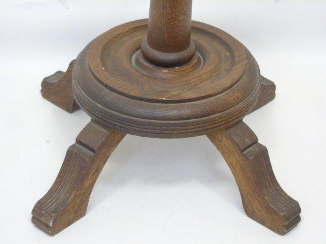 Antique 19th C Victorian Carved Wood Coat Rack - 4