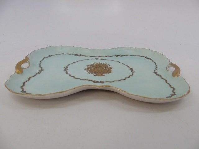 Antique Porcelain Ladies Four Piece Vanity Set - 6