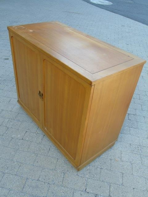 Mid Century Modern Storage Console w/ Pull Outs - 4