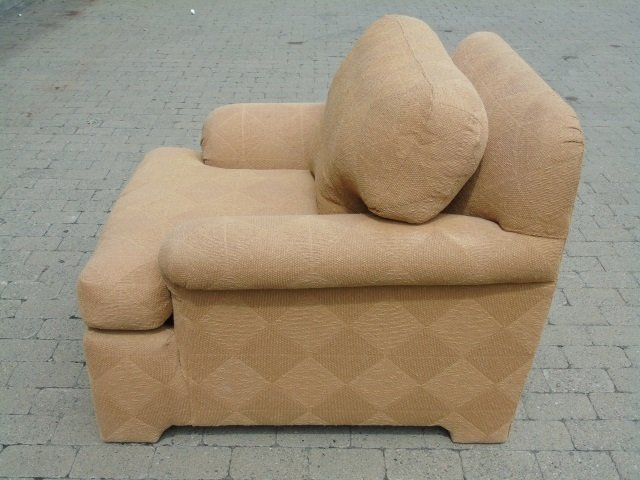 Pair Contemporary Traditional Armchairs - 4
