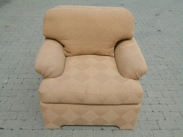 Pair Contemporary Traditional Armchairs - 6