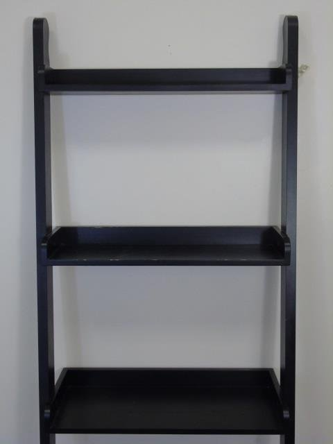 Contemporary Modern Black Painted Bookcase - 4