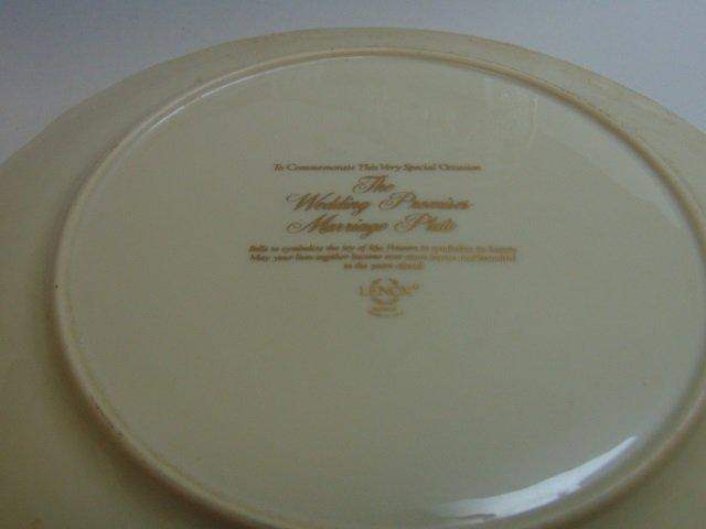 3 Vintage Lenox Porcelain Clock / Plate / Frame - 2