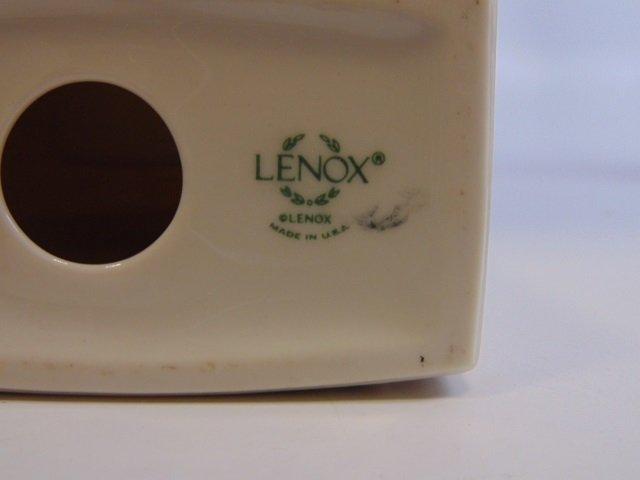 3 Vintage Lenox Porcelain Clock / Plate / Frame - 4