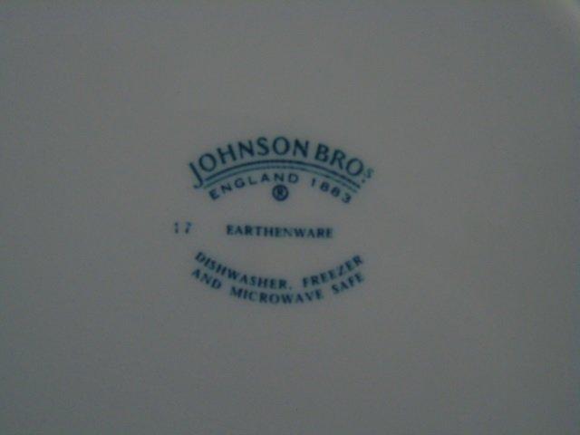 Large Service Johnson Bros. Rose Chintz Porcelain - 8